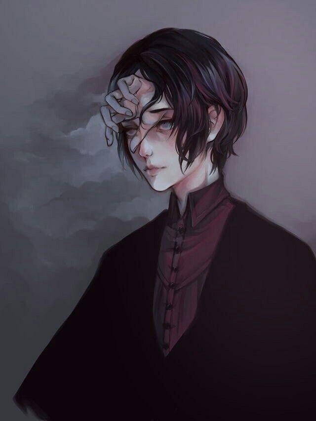 Psycho My Blog Aesthetic Anime Creepy Art Anime Artwork