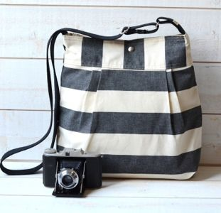 Accessorize your outfit with a diaper bag.