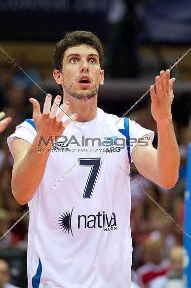 Facundo Conte de Argentina Equipo de Voleibol está en shock
