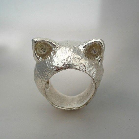I'm All Ears - The White Kitten Ring