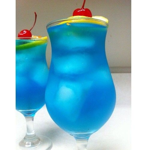 Blue Long Island Ice Tea 1/2 oz. (15ml) Vodka... | Tipsy Bartender