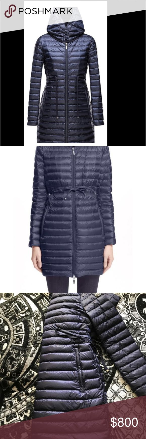Moncler eBay currently ends Saturday! So don't miss out! Message me for a quick offer! :) WILL DO LESS ON TRADESY, MECARI, PayPal, or venmo!  Women's AUTHENTIC Moncler coat for sale! This coat is a size 3 Brand new without tags attached Well taken care of, extremely light and comfortable, perfect for spring, and winter!  Pictures show authenticity and all the necessary compartments for look up. Message me any information! Thank you! Moncler Jackets & Coats Puffers