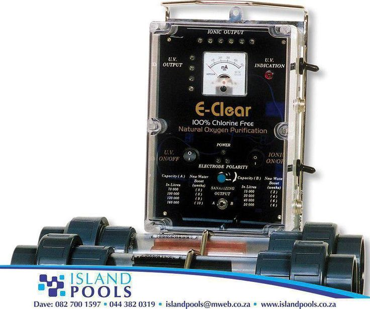 #Eclear is the most effective chlorine free, salt free and ozone free water sanitation technology currently available for commercial pools, spas, domestic swimming pools and potable drinking water. Call #IslandPools on 044 382 0319 for more info
