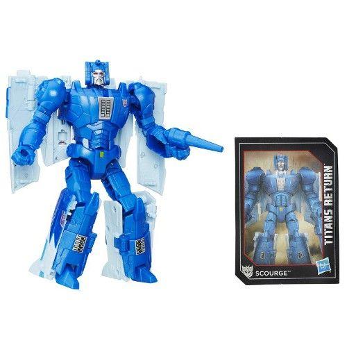 Boneco Transformers Deluxe Titan Return - Scourge - Hasbro