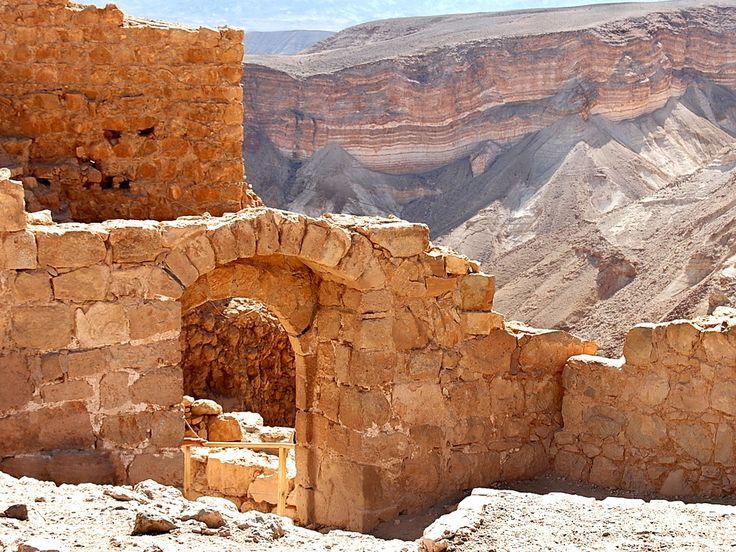 *MASADA, ISRAEL~a palace turned fortress.