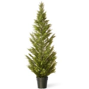 National Tree Co. Arborvitae Artificial Christmas Tree - Dark