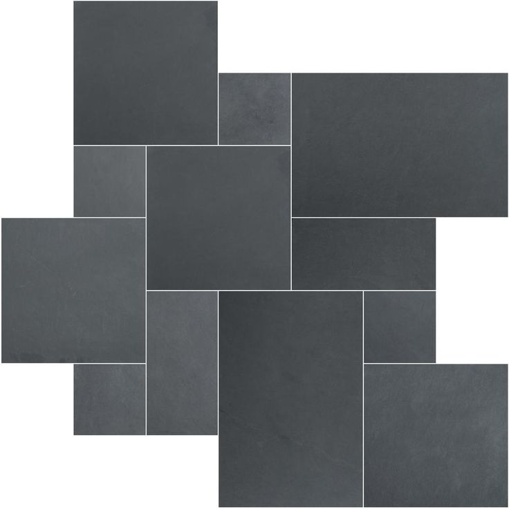 $445 MS International Montauk Blue Ashlar Pattern 16 in. x 24 in. Gauged Slate Floor and Wall Tile (5 Kits / 80 sq. ft. / Pallet)