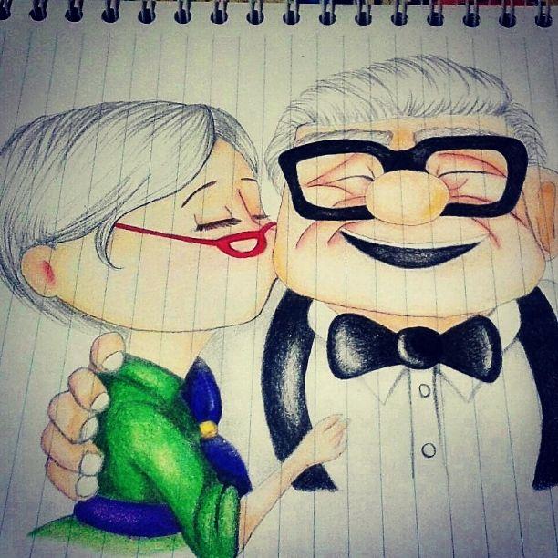 #Up #disney #lovedisney #passion #art #love #draw #loveart #stateofmind