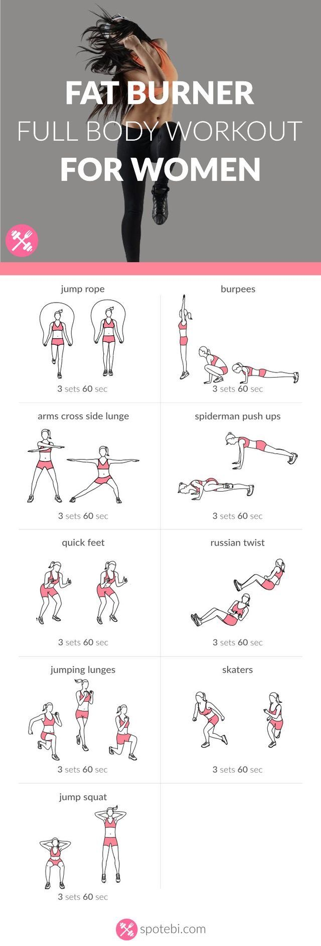 21 Best Arms Images On Pinterest Workouts Exercise And Chest Back Superset Circuit Workout Tone Tighten Increase Your Stamina Endurance With This Bodyweight Fat Burner Routine For Women A 30 Minute Full Body To Sculpt