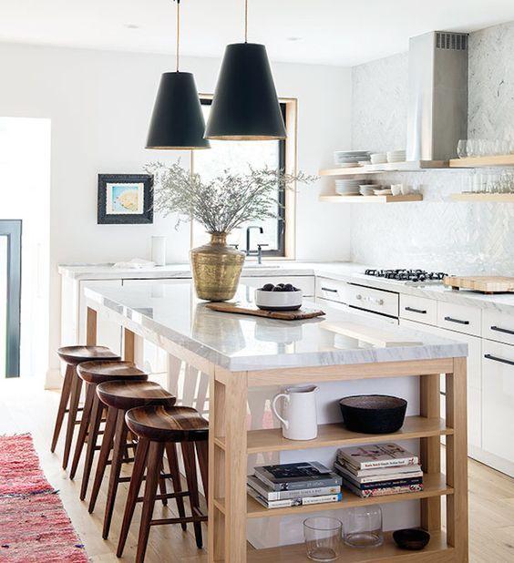 227 best Küche Kitchen images on Pinterest Ikea cabinets, Ikea - offene küche mit insel