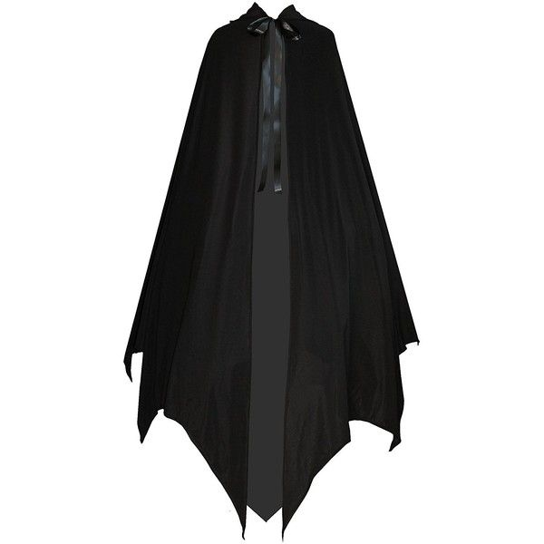 Victorian Vagabond Gothic Game of Thrones Vampire Bat Steampunk Cape... (2,515 INR) ❤ liked on Polyvore featuring tops