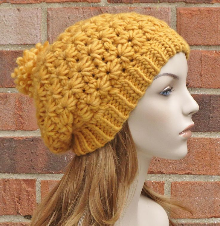 Crochet Star Stitch Hat Free Pattern : 186 Best images about Star Stitch Crocheting on Pinterest ...