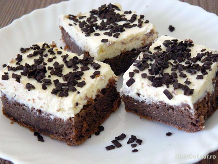 Negrese cu crema mascarpoone - pufoase, cremoase, cu un gust fin de ciocolata alba si crema mascarpone.O prajitura perfecta pentru musafiri.