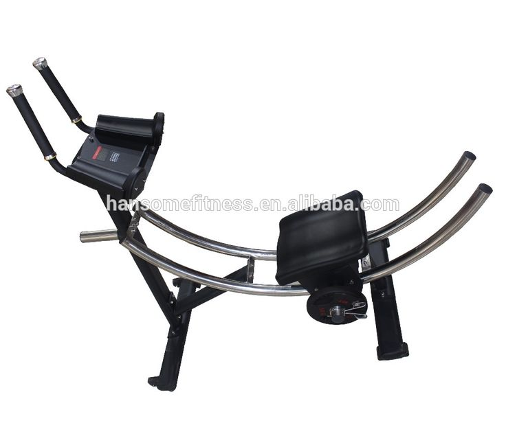 Commercial fitness equipment abdominal trainer ab coaster
