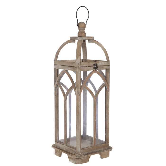 Arched Wood Lantern Hobby Lobby 1801364 In 2020 Wood Lantern Lamp Decor Rustic Lamps