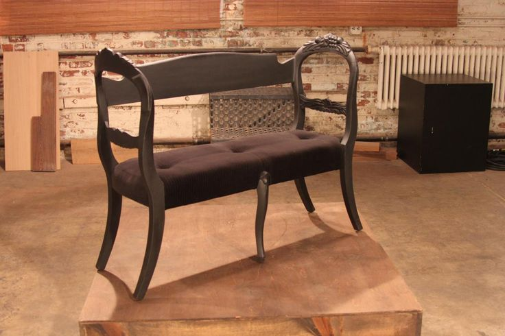 Made out of two chairs  Before and After Images From HGTV's Flea Market Flip | DIY Network Shows | DIY