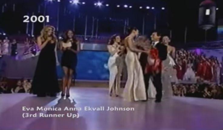 Eva Ekval Miss Venezuela 2000, durante su participacion en el Miss Universe 2001 en Puerto Rico, ocupa el 3th runner up.. by Antoni Azocar
