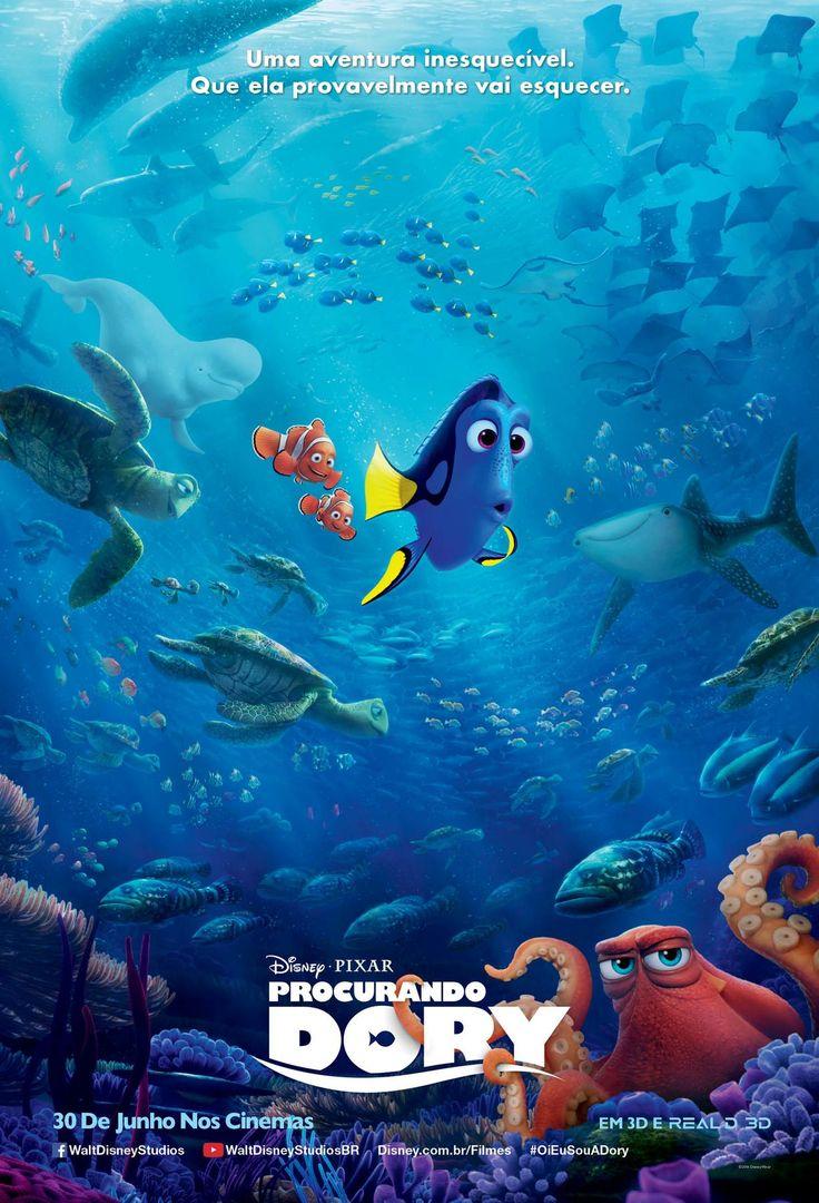 Um filme de Andrew Stanton. Um ano após ajudar Marlin (Albert Brooks) a reencontrar seu filho Nemo, Dory (Ellen DeGeneres) tem um insight e lembra de sua amada família. Com saudades, ela decide fazer de tudo para reencontrá-los e na desenfreada bus...