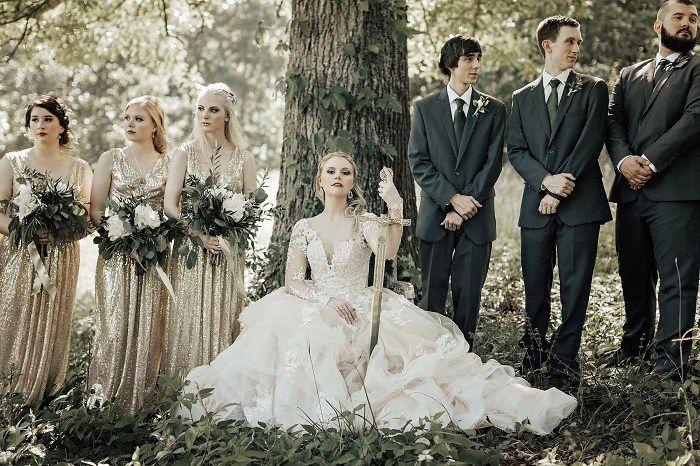 Purple Wedding A Game Of Thrones Inspirations Best Wedding