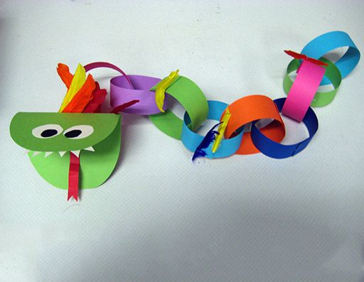 Classroom Crafts to Celebrate the Chinese New Year | Scholastic.com such a CUTE dragon Slang