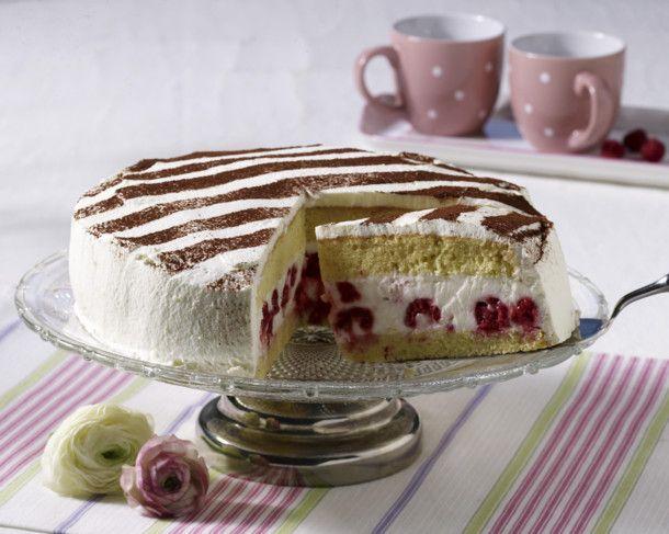 Unser beliebtes Rezept für Himbeer-Dickmilch-Torte und mehr als 55.000 weitere kostenlose Rezepte auf LECKER.de.