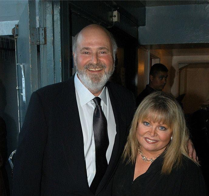 Rob Reiner and Sally Struthers (All In The Family tv series), who both turn 70 this year (2017). Rob recently showed off his dramatic 77-pound weight loss.