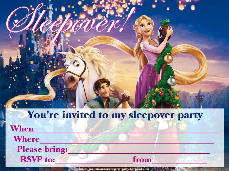 109 best Free printable party invitations for children images on – Pajama Party Invitations Free