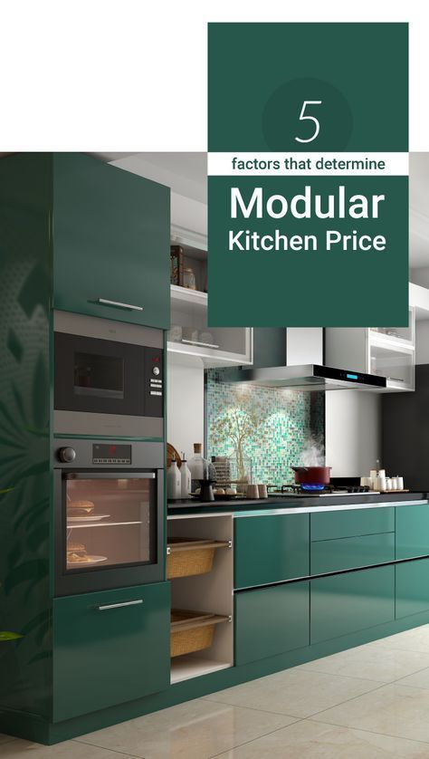 Modular kitchens are not as expensive as you might think. Read on to know more.