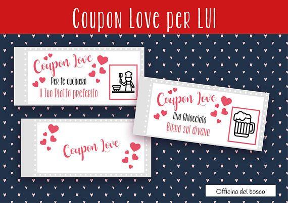 Divertente Coupon Love 12 Coupon Stampabili Per Il Tuo