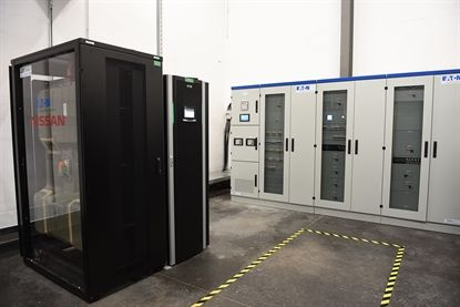 Nissan EV Batteries Reused At French Data Center