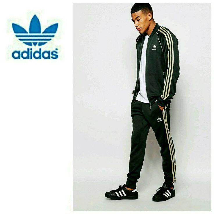 Large Adidas Originals Superstar Complete Tracksuit Track Pants TT Jacket |  eBay