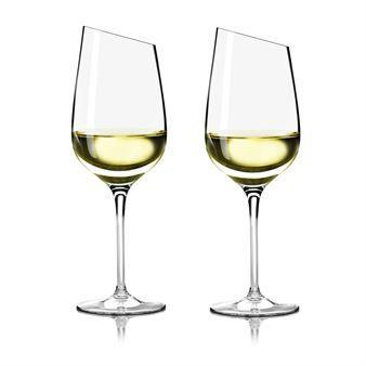 Elegantti Eva Solo Riesling -lasi on kaunis viinilasi, joka on mainio mineraalivesille ja