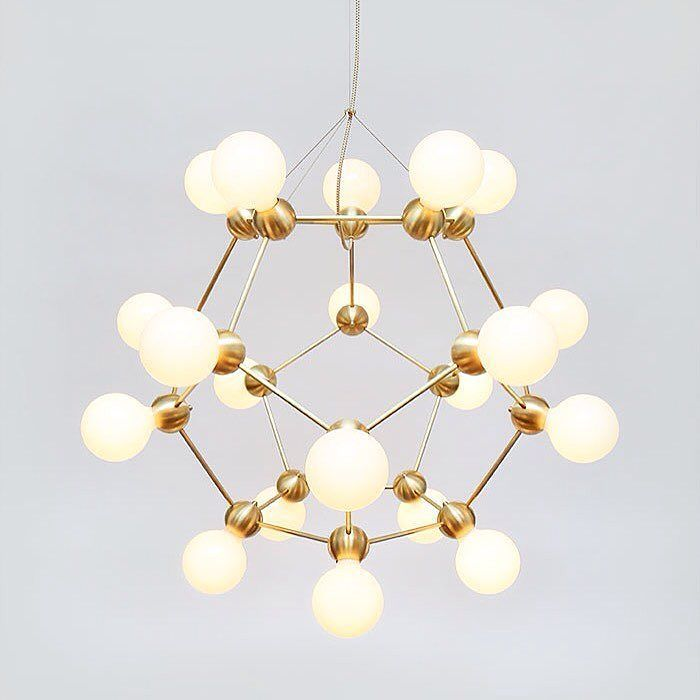Nodic magic beans dna lustres pendant light modern wrought iron led home hanglamp industrial cafe art deco project lamps