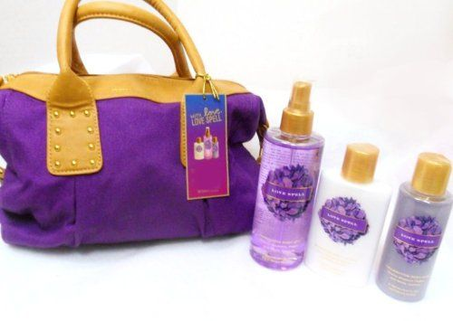 Victoria's Secret Garden Love Spell Bag 4 Pcs Gift Set Victoria's Secret Love Spell Gift Set with Canvas Tote Bag  Read more http://cosmeticcastle.net/fragrance/victorias-secret-garden-love-spell-bag-4-pcs-gift-set  Visit http://cosmeticcastle.net to read cosmetic reviews