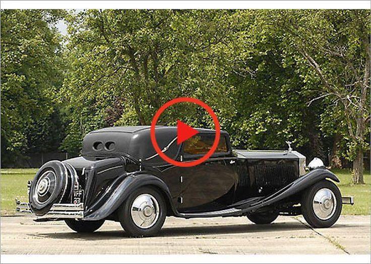PhotographRollsRoyce Phantom 2 Continental 1933 black7