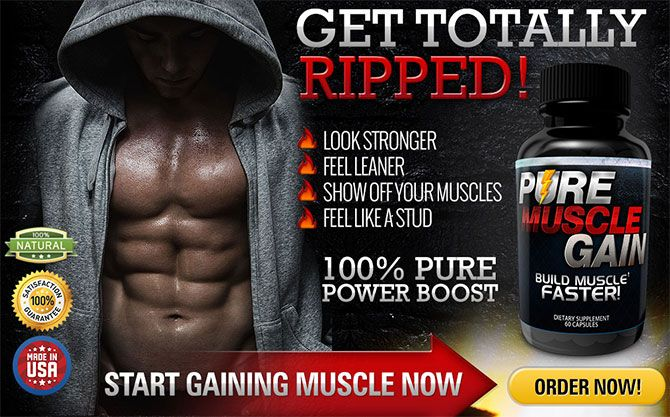Pure Muscle Gain is usually a men's health supplements by having an extreme, innovative formulation clinically developed regarding men's entire body for being totally sculpted, possess leaner muscles, along with an extra advantage of bettering sexual interest or even erectile get. http://ragednatrial.com/pure-muscle-gain/