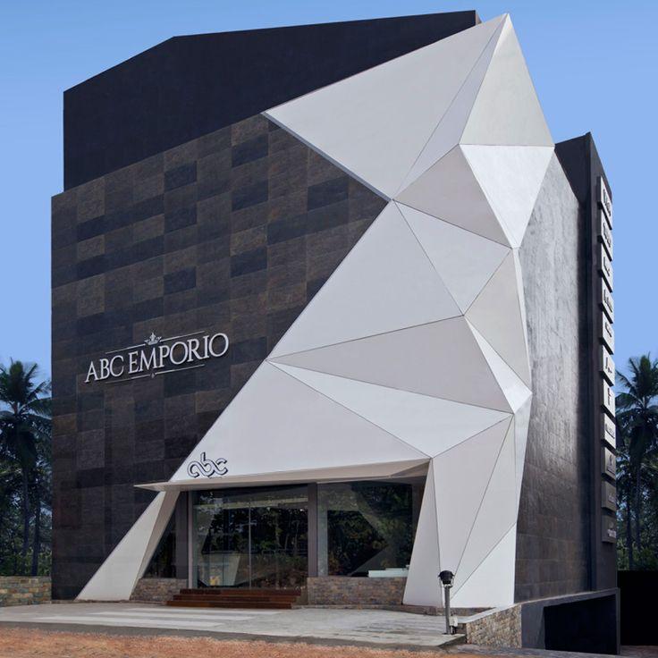 architecture nude emporio design - dissolved corner