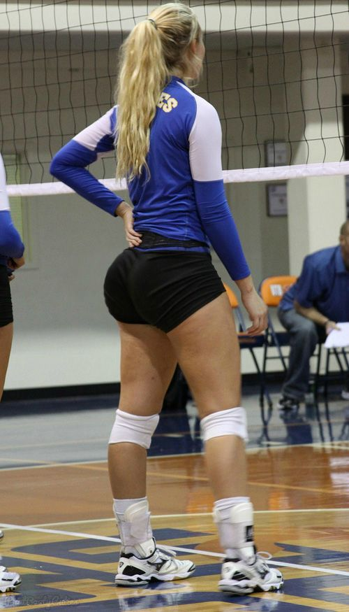 Consider, what girls volleyball shorts big butts commit