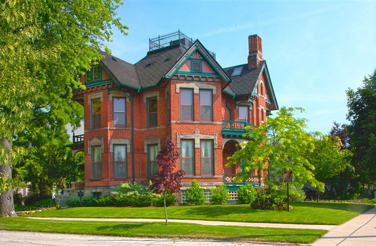 Historic Webster House in Bay City, Michigan | B&B Rental