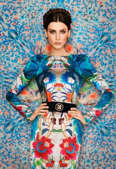 Wallflower  Dress and photo byTemperley London