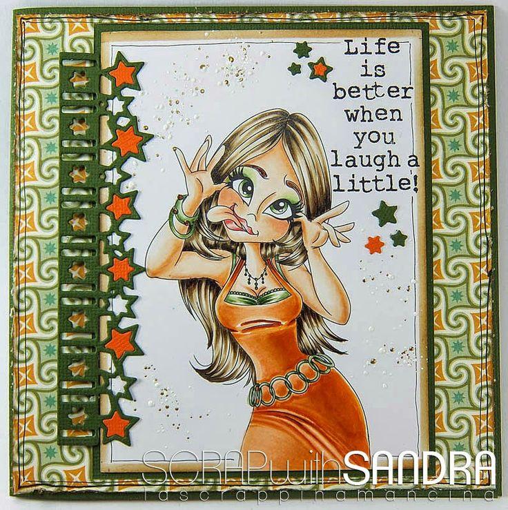 Scrap with Sandra: Laugh a little !