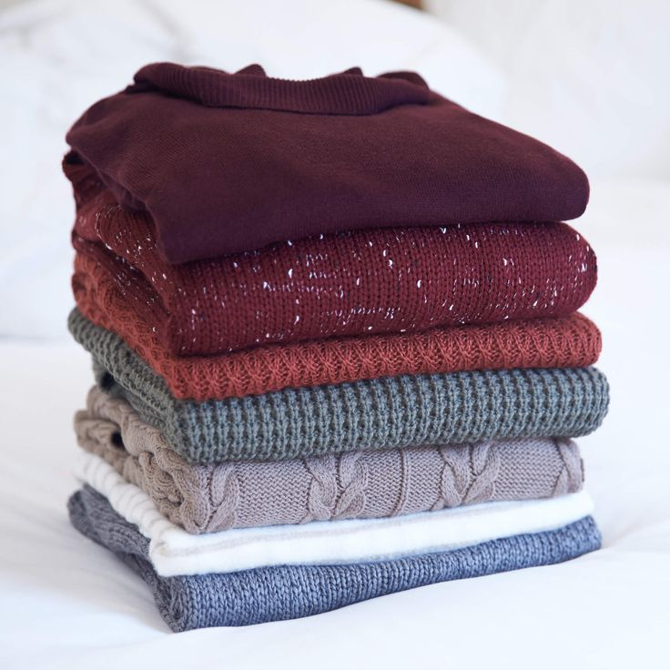 Fall means wearing your chunky sweaters on repeat. Read our sweater care guide for tips on how to keep your sweaters in tip top shape!