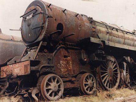 pictures of scrap railway engines | Barry Scrap Yard 1972 - Photograph By Dave Hampshire