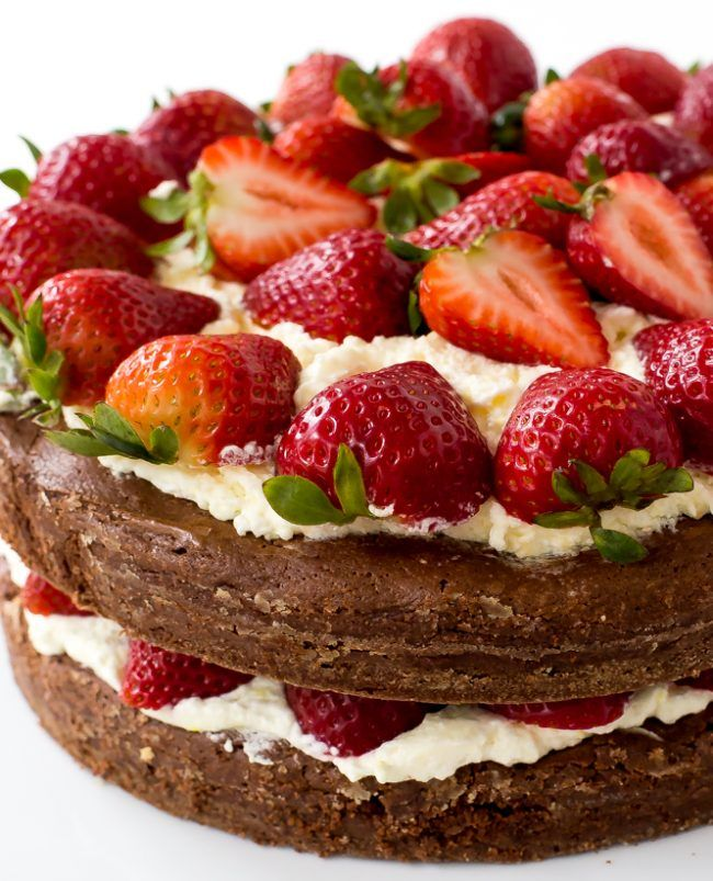 + ideas about Strawberry Brownies on Pinterest | Strawberry brownie ...
