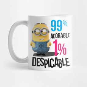 Adorable Minion 99 - Adorable Minion 99 - T-Shirt   TeePublic