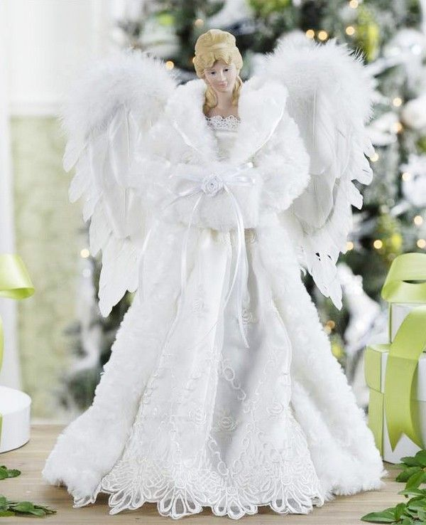 12 best Angle top images on Pinterest | Christmas angels ...