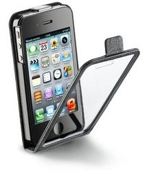 Чехол для Apple iPhone 4S Cellular Line Smart Flap IPH4S