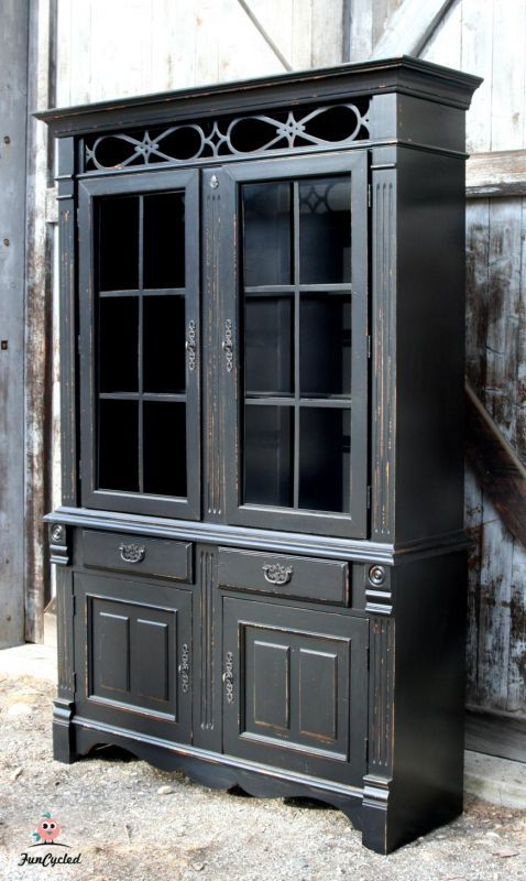 Painted China Cabinets | Favorite Furniture Friday - Petticoat Junktion