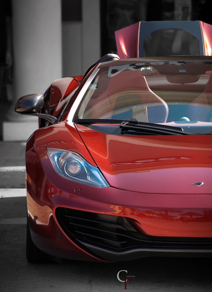 Cars and Coffee: Houston, TX Mclaren mp4-12c (By Celestine Photography)