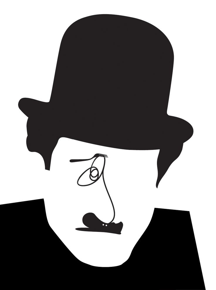 A witty portrait by Noma Bar